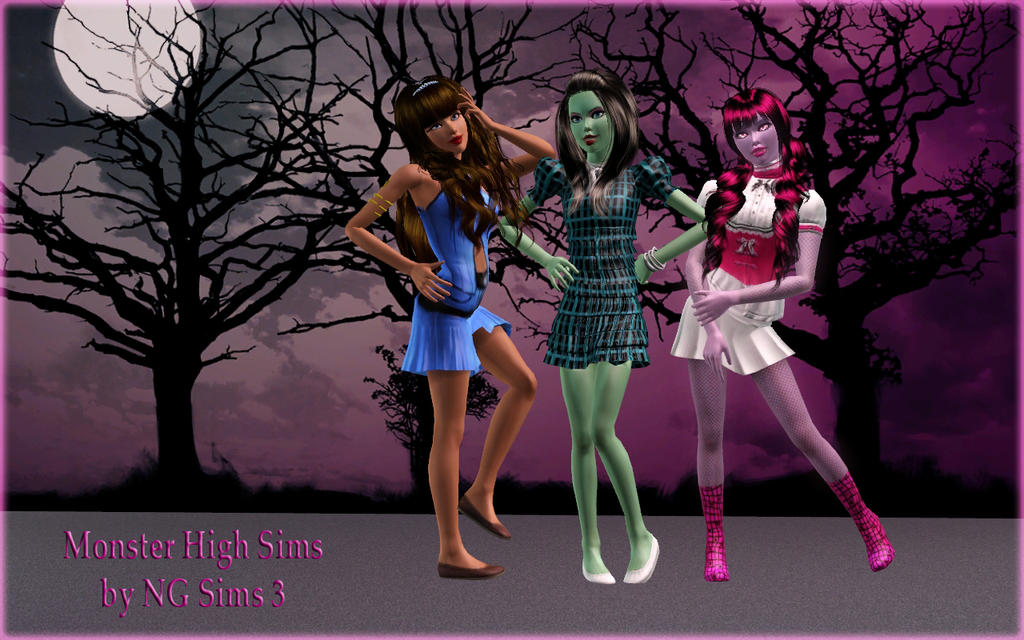 Monster High by NGSims3 by ng9