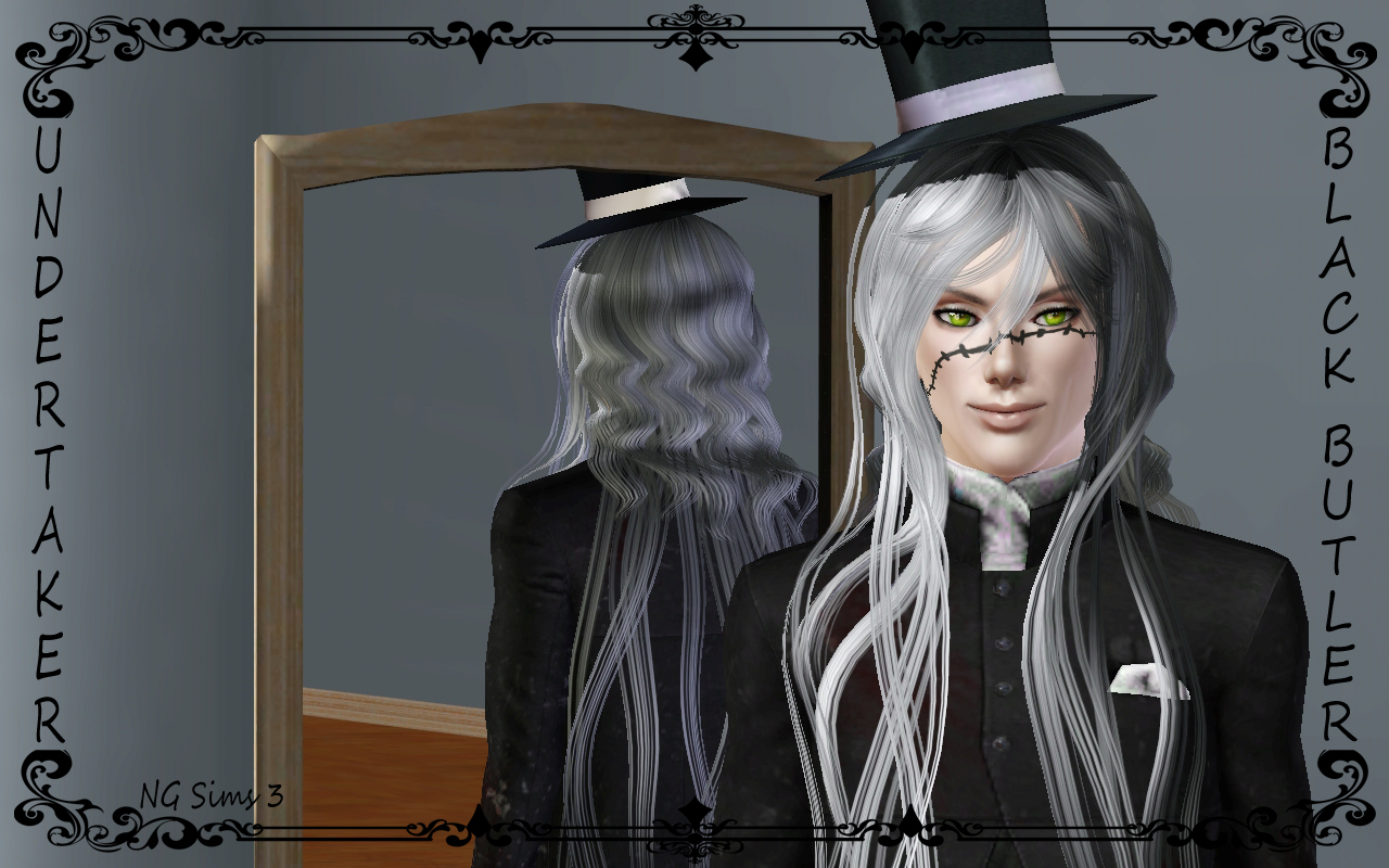 Sims 3 Anime Characters : Undertaker sims and scar by ngsims ng on deviantart