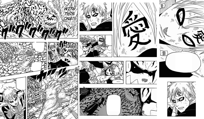 Gaara and Shukaku (Naruto Chapter 660) by ng9 on DeviantArt Gaara And Naruto Chibi
