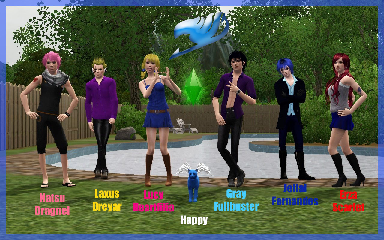 Gray Vs Lyon (Sims 3) by ng9 on deviantART