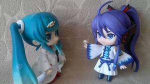 Miku and Gakupo (1)