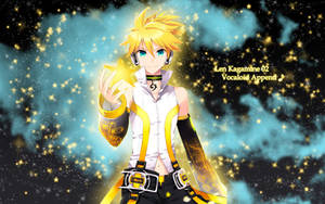 02 Len Kagamine Append Wallpaper (1) by ng9