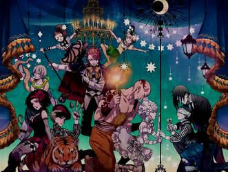 Kuroshitsuji Book of Circus - 2014 (Colorful) by ng9