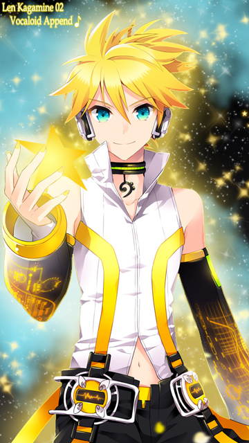 02 Len Kagamine Append N8 by ng9