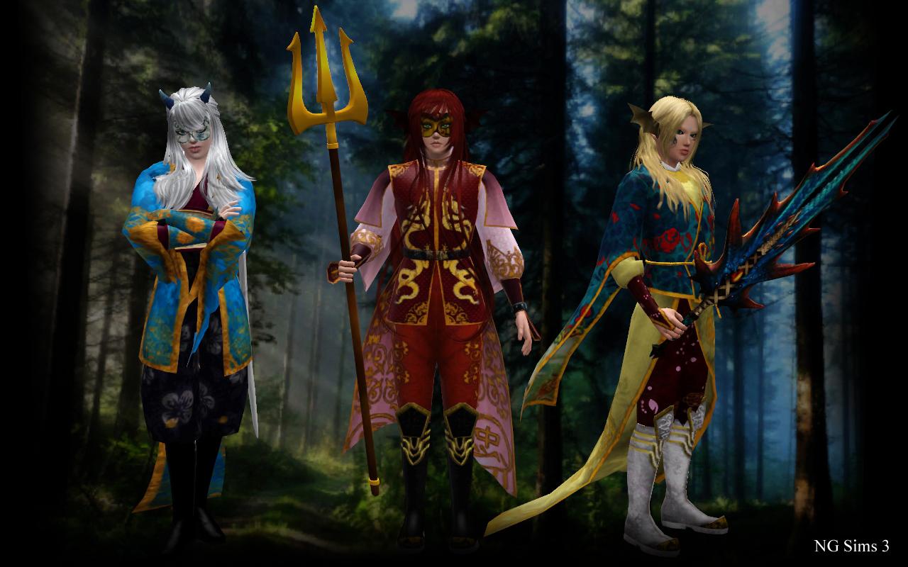 Fantastic Sims 3 OC by ng9