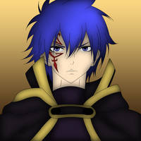 Jellal Fernandes Colored by ng9