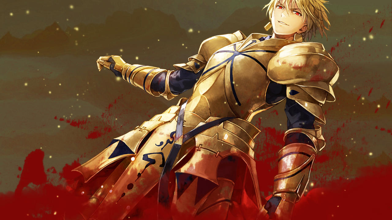 fate stay night - goldenking gilgamesh wallpaper 2ng9 on deviantart