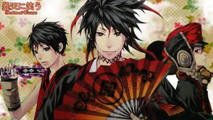Donten ni Warau - Anime Wallpaper by ng9