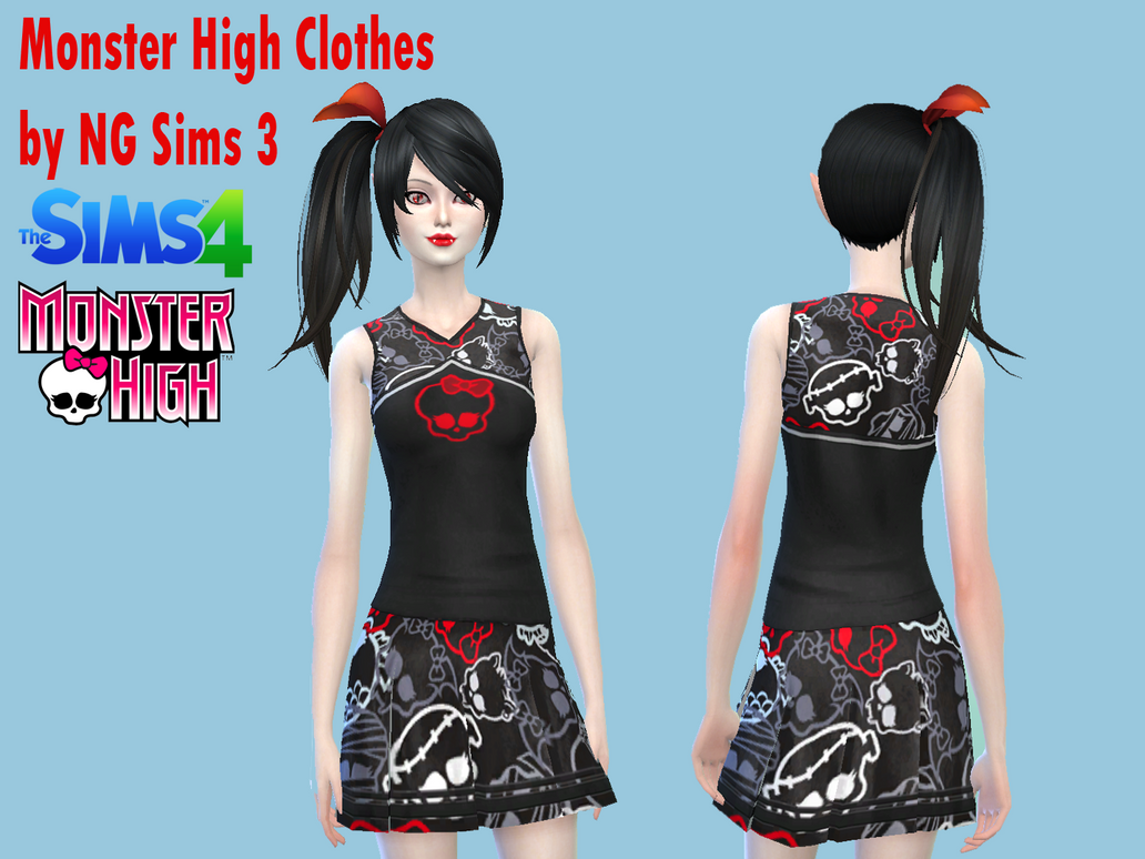 Sims 4 Mods School Clothes   ANLIS