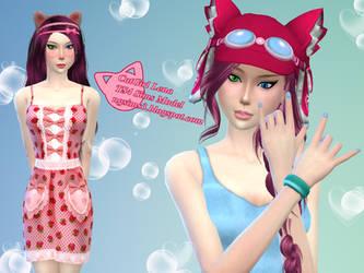 CatGirl Lena - TS4 Sims Model by ng9