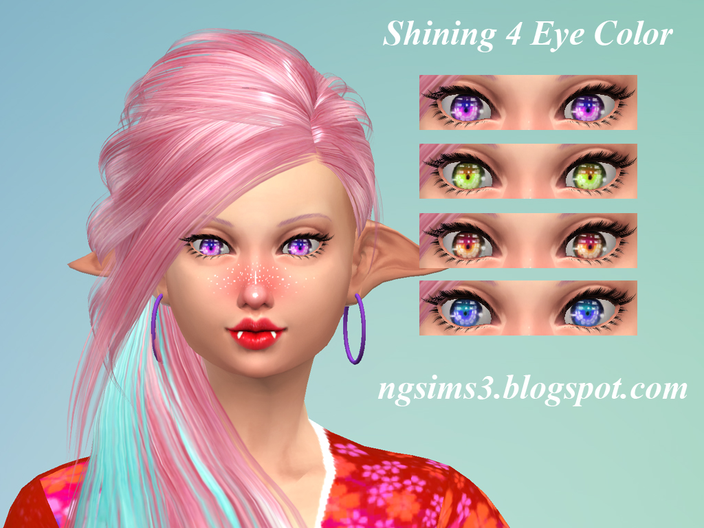 Shining 4 Eye Color - TheSims4CC by ng9 on DeviantArt