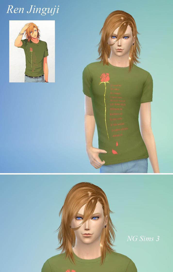 Ren Jinguji TS4 Sims Model by ng9