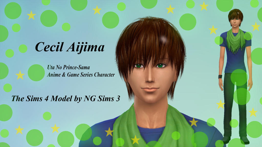 Cecil Aijima TheSims4 Model by ng9