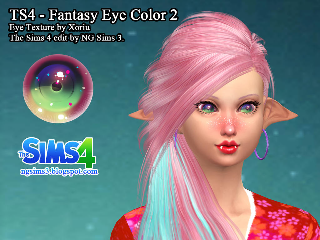 TS4 - Fantasy Eye Color 2 by ng9