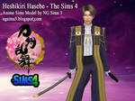 Heshikiri Hasebe - TS4 Download by ng9