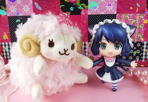 Cat Girl Cyan + Sheep Mary Photos 3 by ng9