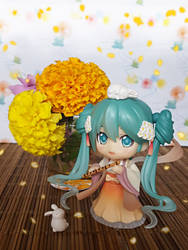 MoonLight Flower Petals Hatsune Miku by ng9