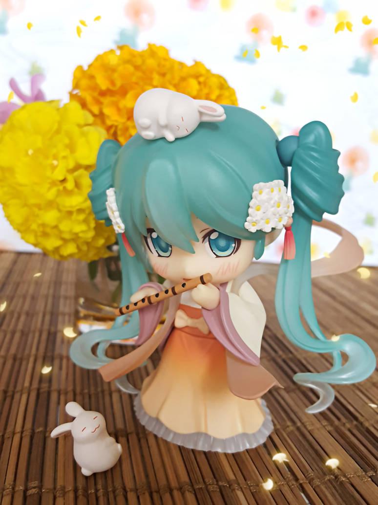 MoonLight Flower Petals Song Hatsune Miku by ng9