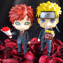Gaara and Naruto - happy valentine's day by ng9
