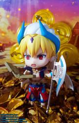 Caster - Gilgamesh Nendoroid by ng9