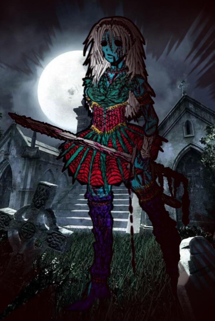 anime zombie princess: Zombie Princess By MateczQa On DeviantART