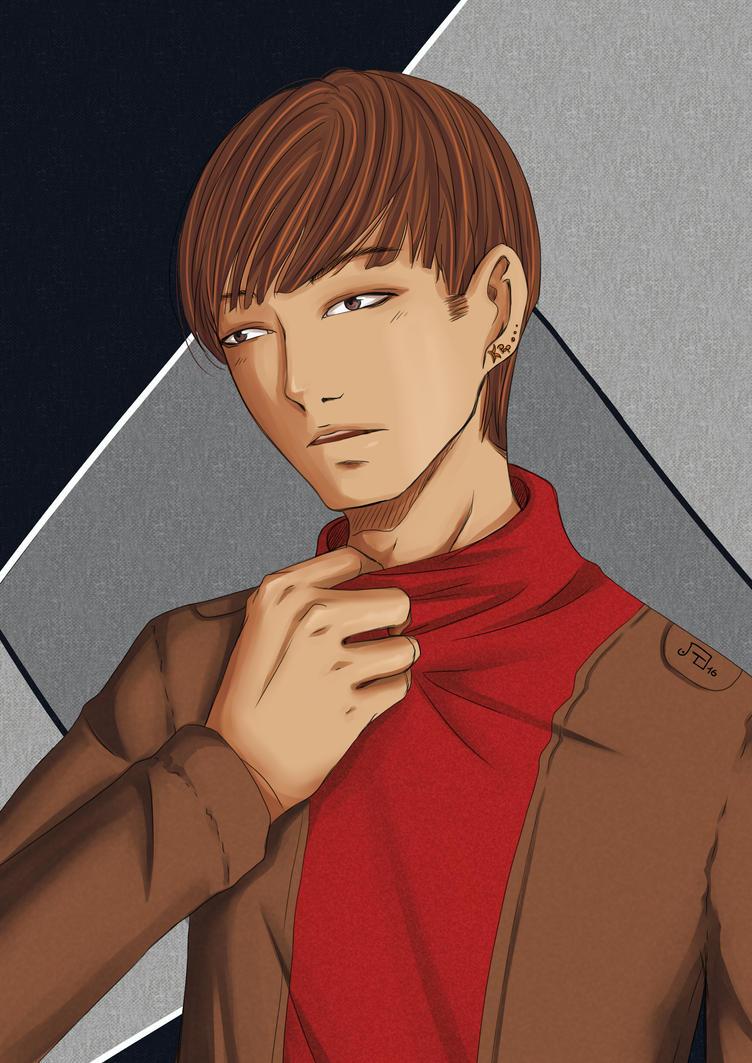 Korean Boy 1 by tampopoeiki
