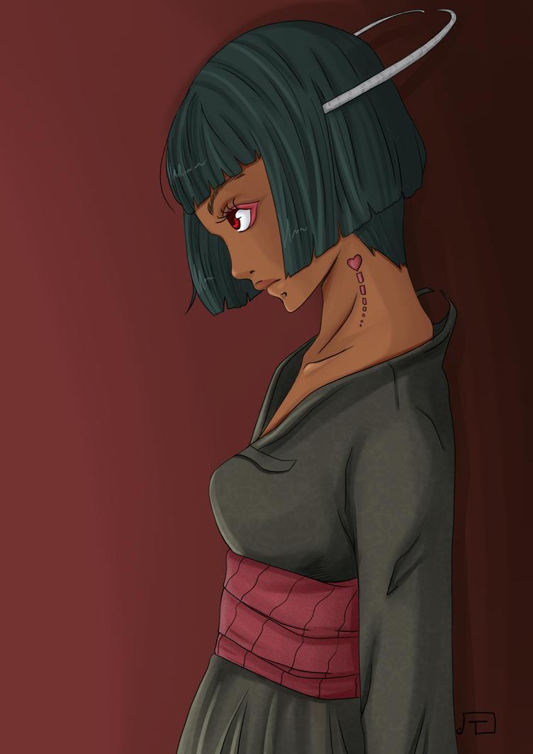 Demon Sai by tampopoeiki