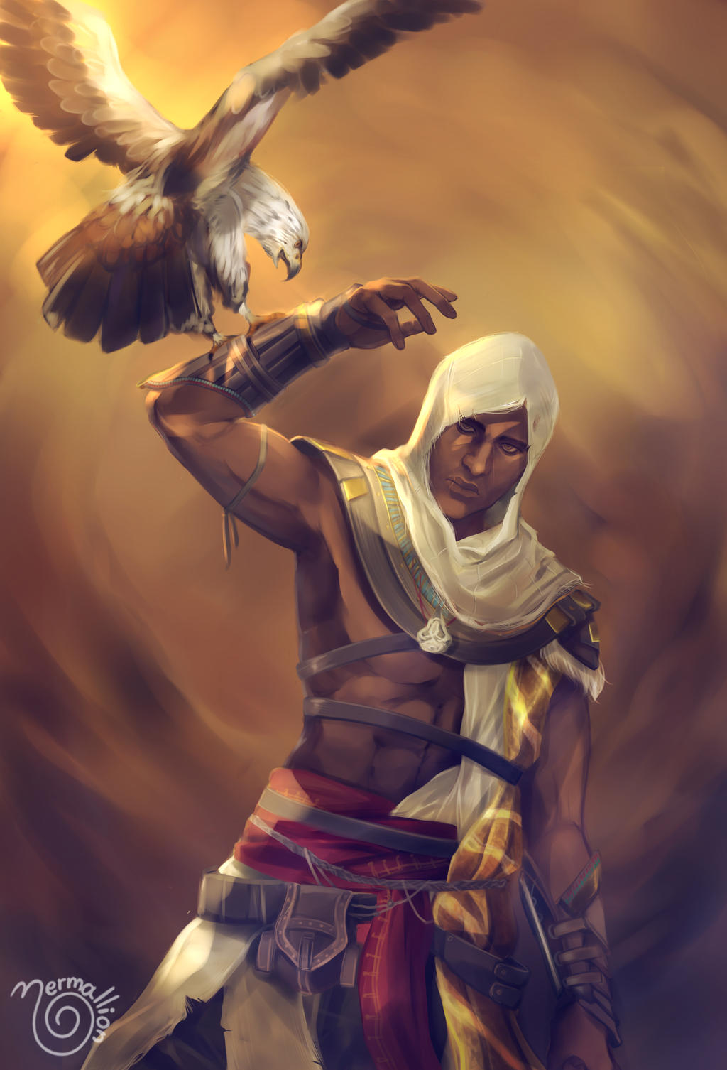 Bayek By Nermallion On Deviantart