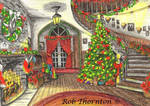 Christmas Card - Stairs