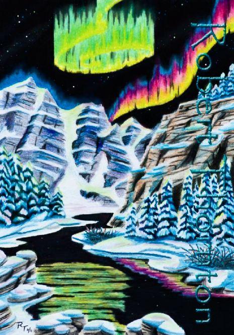 Aurora Borealis by Haydaad