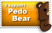 Pedo bear Stamp by Pixel-Sam