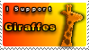 Giraffe Stamp by Pixel-Sam