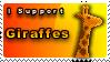 Giraffe Stamp by Pixel-Sam