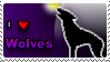 I love wolves stamp by Pixel-Sam