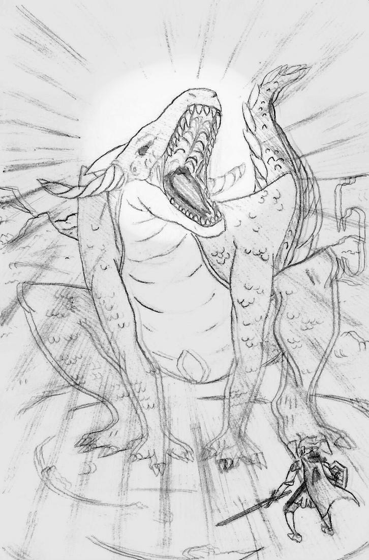 Dragon Fight ! by Kyroda