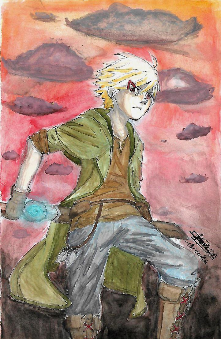 watercolor test by Kyroda