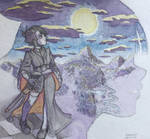 Misao, the melancholic queen by Kyroda