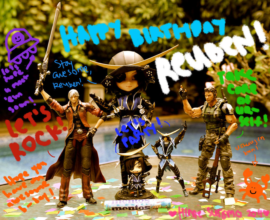 Reuben Langdon 2011 B-day Card by luckysevenstars