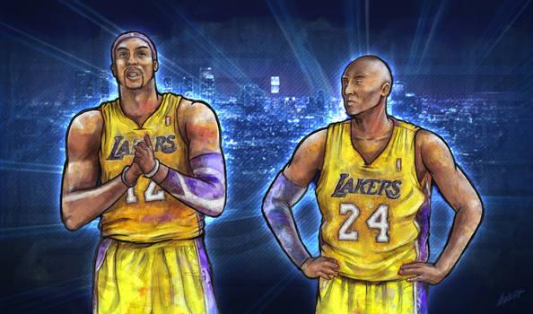 Kobe Bryant and Dwight Howard (Los Angeles Lakers)