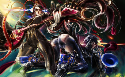 Double Bayo by refreshyourface