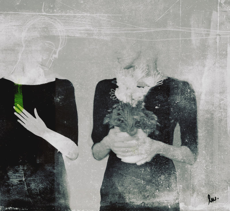 Green leaf by MaleSrdce