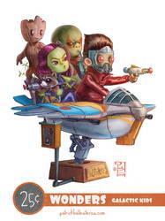 Galactic Kids by patrickballesteros