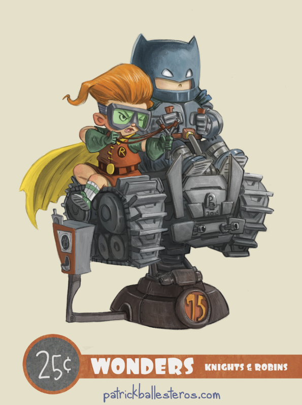 Knights and Robins by patrickballesteros