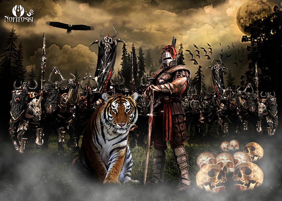strong warrior army