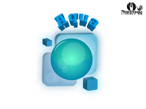 Aqua 3D logo