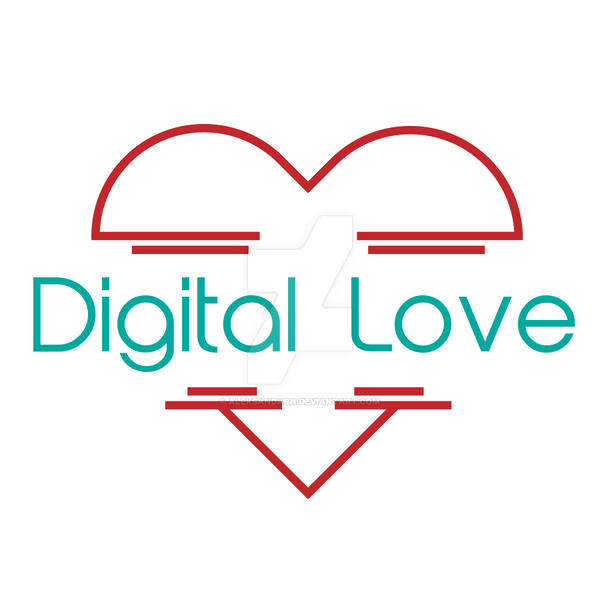 digital love ( logo ) by AleksandarN