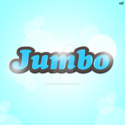 Jumbo ( logo design for kids store ) by AleksandarN