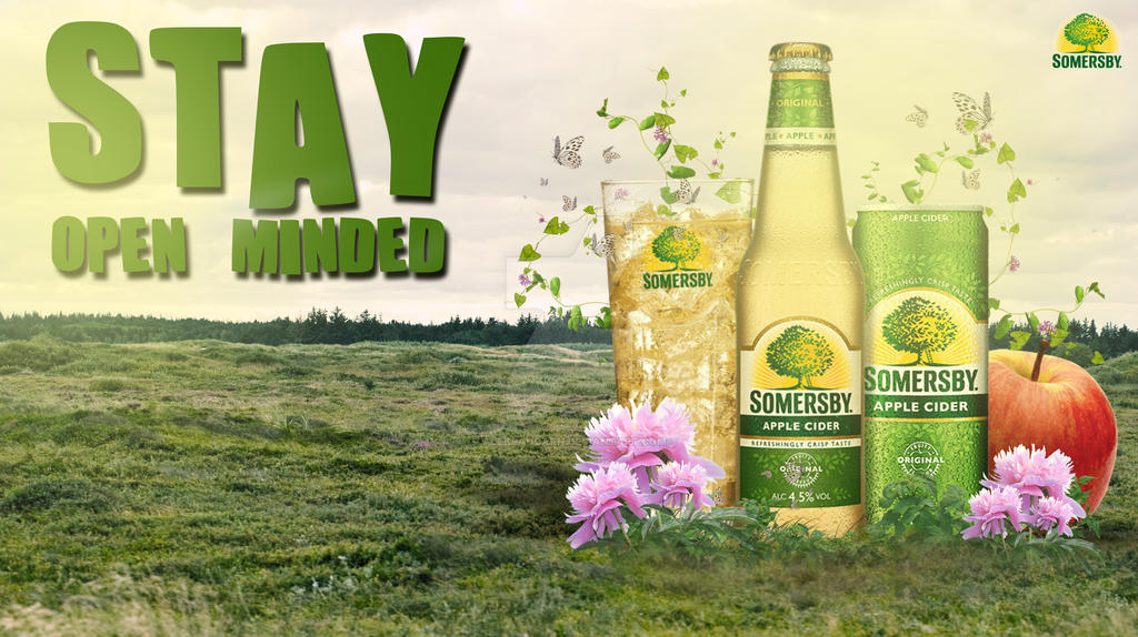 Somersby Poster Design by AleksandarN