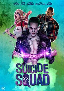Suiside Squad Poster Design