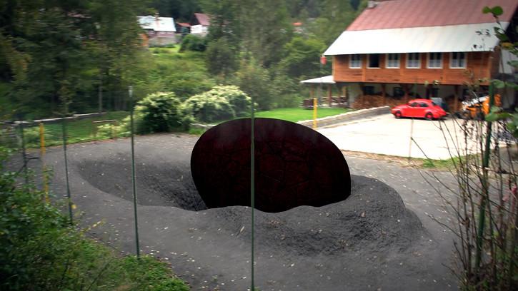 Meteor crash by LubomirCenovsky